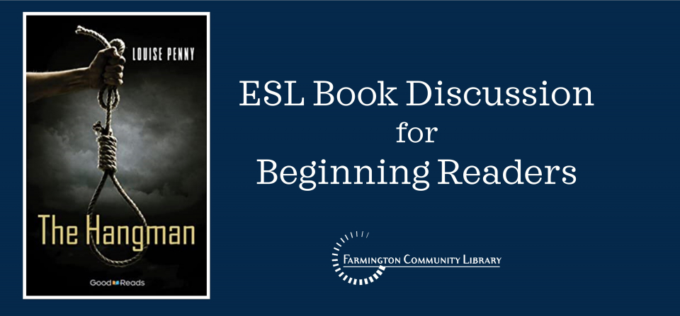 ESL Book Discussion for Beginning Readers