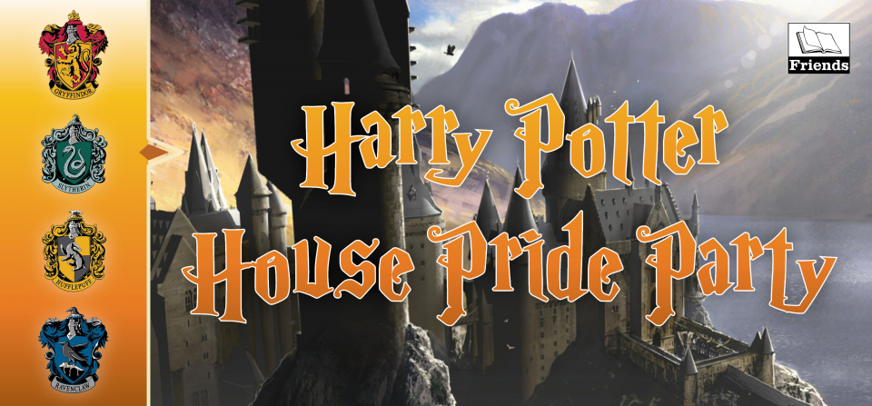 Harry Potter House Pride Party