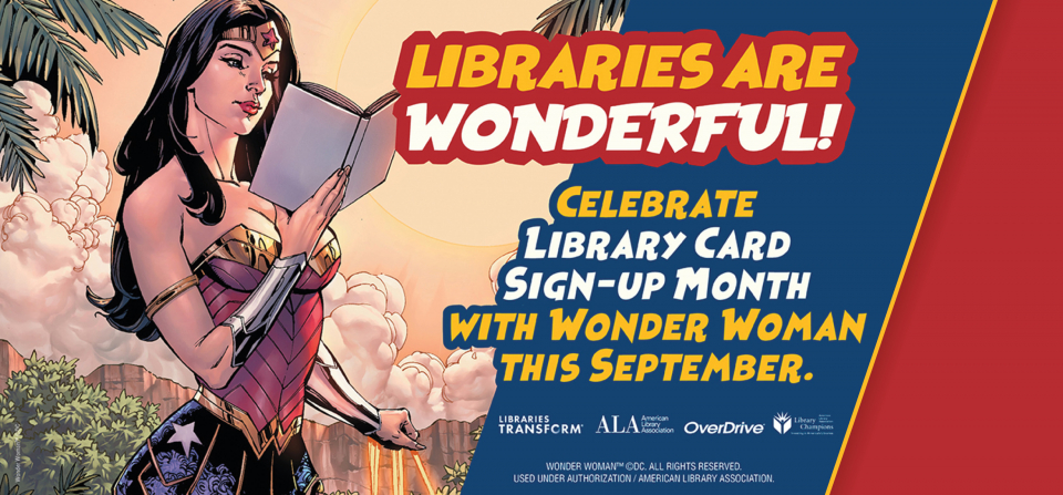 Lasso Up Library Card Sign-up Month 2020