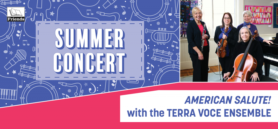 Summer Concert - American Salute! with the Terra Voce Ensemble