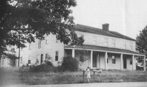 In 1836, Orrin and Allen Weston built home/inn named the Weston House alongside what would become the Grand River Turnpike.  Photo 1878