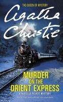 Murder on the Orient Express Book Cover