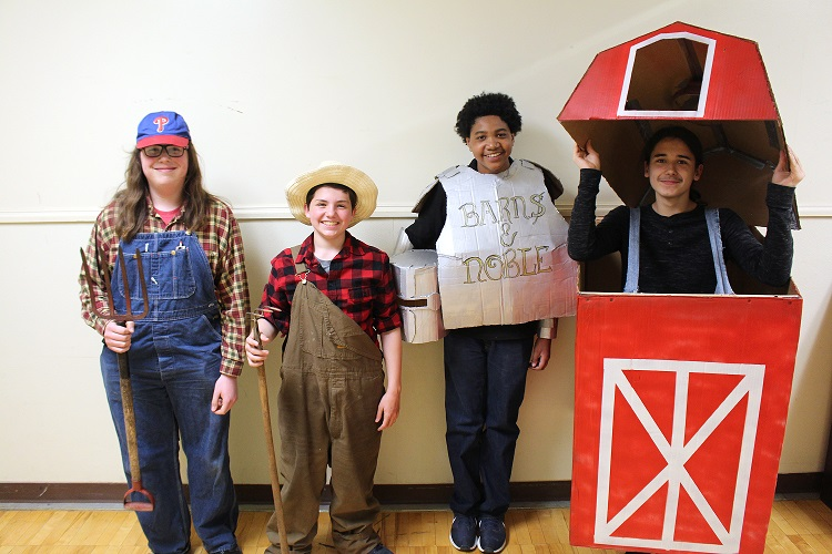 Battle of the Books 2019 Costume Winners