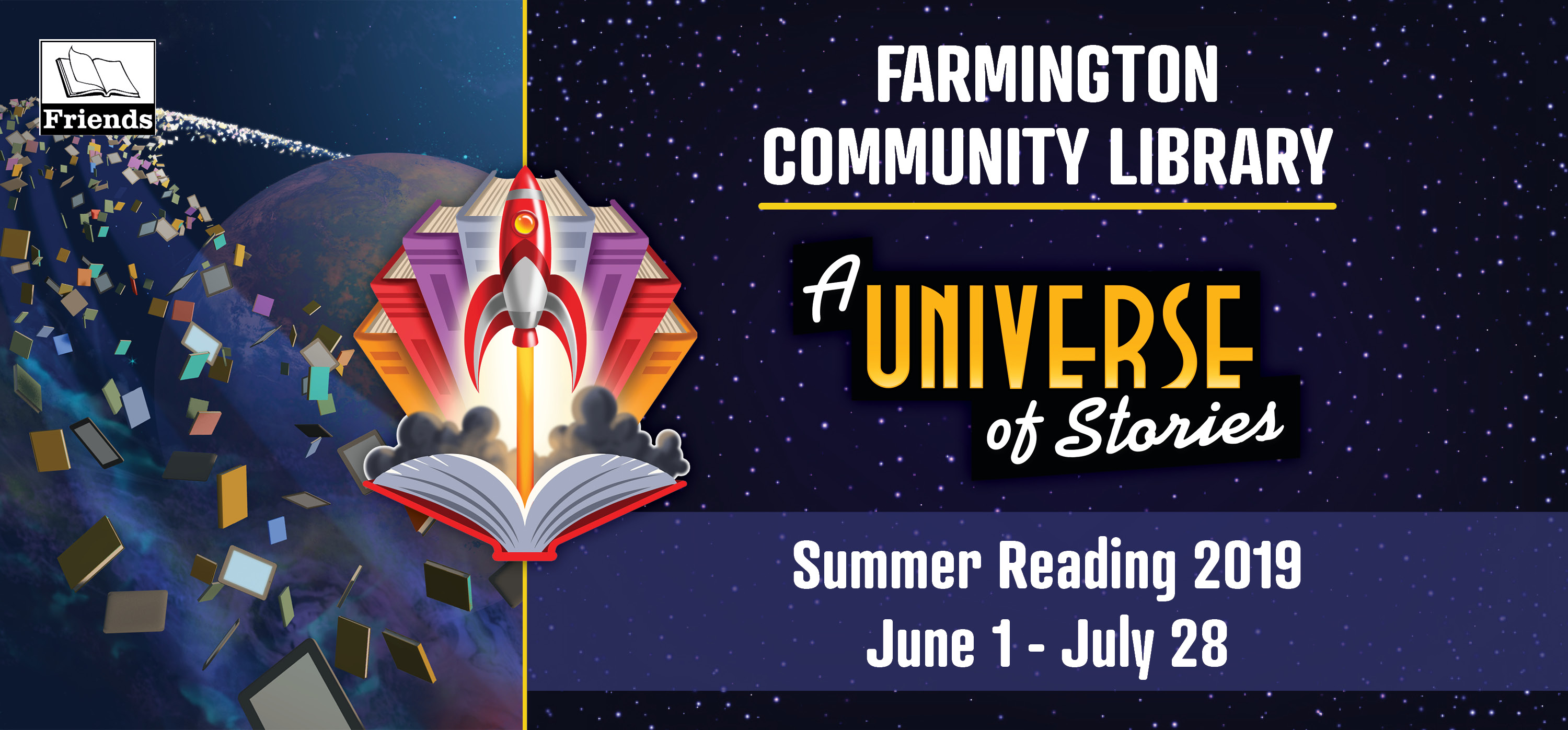 A Universe of Stories - Summer Reading