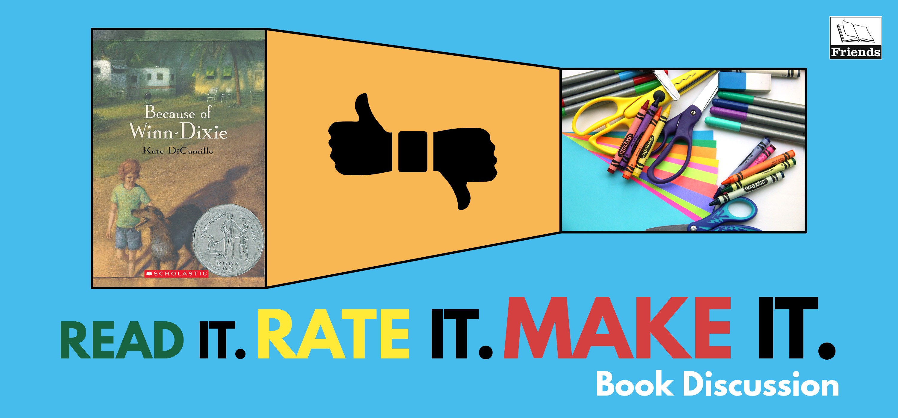 Read It! Rate It! Make It! Book Discussion