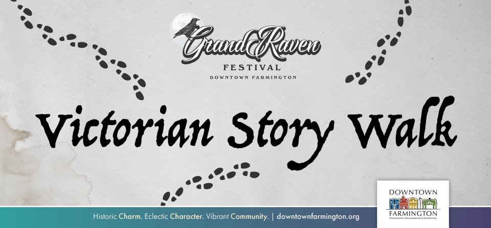 Grand Raven Victorian Book Walk