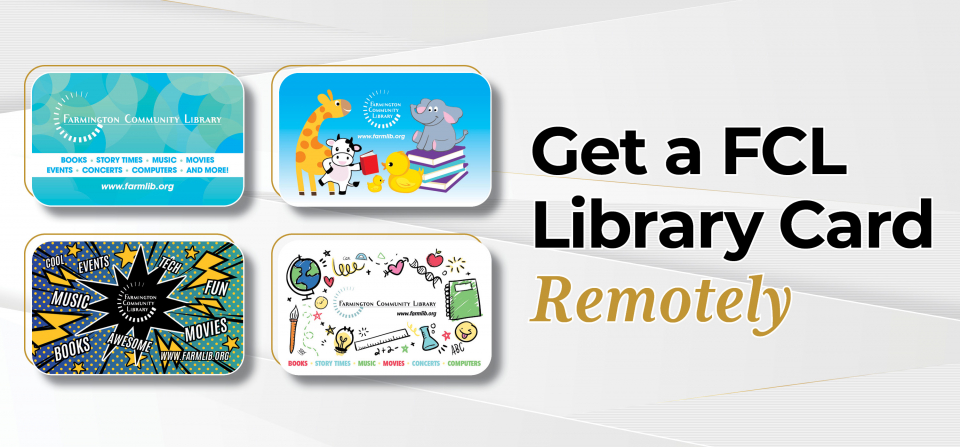 Remote Library Cards