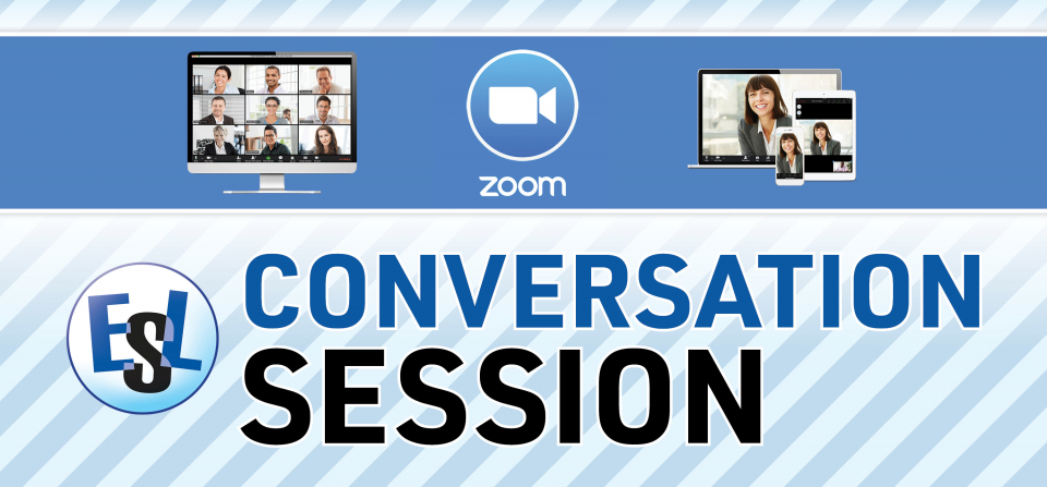 Zoom ESL Conversation Session
