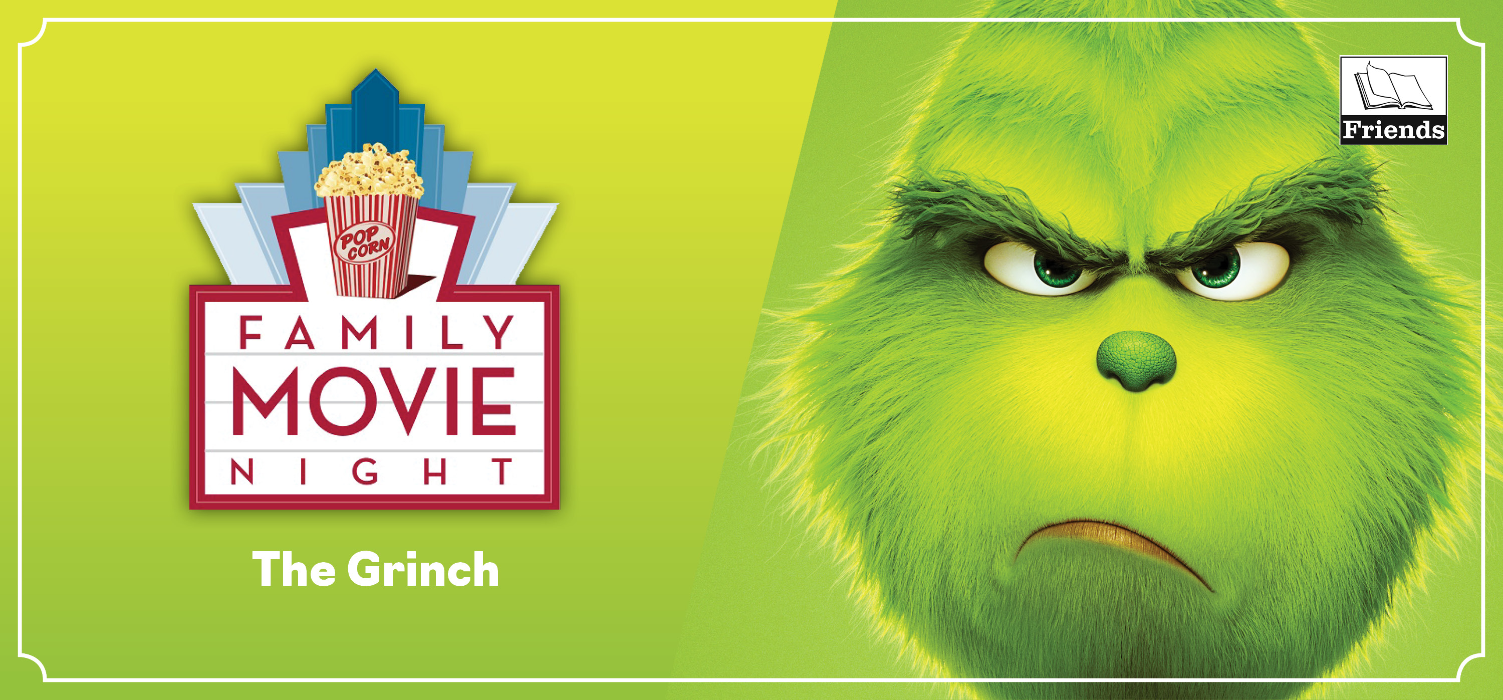 Family Picnic Movie Night - The Grinch